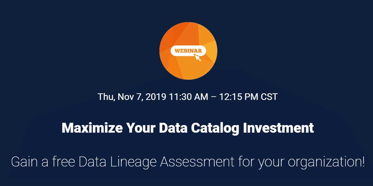 Compact Solutions Webinar | Maximize Your Data Catalog Investment